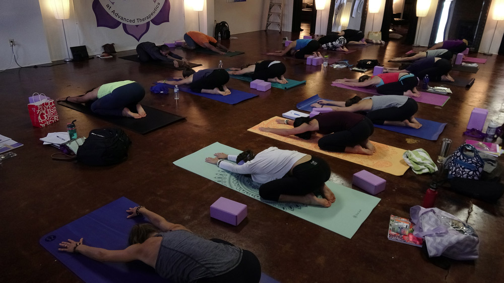 Charlotte Yoga Teacher Training with Urban Bliss Yoga in July 2016